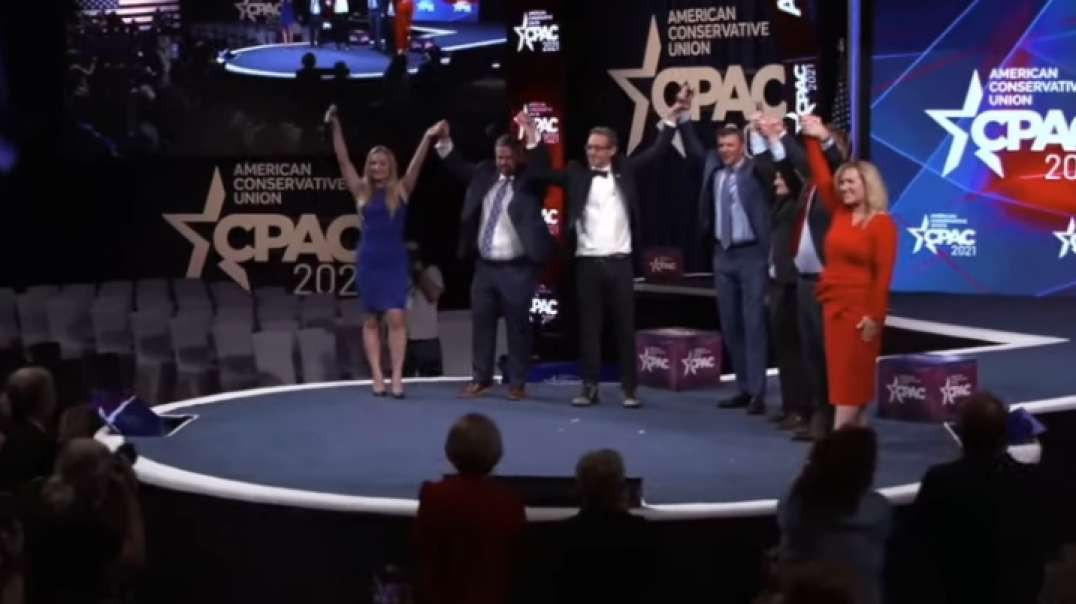 Six Brave Project Veritas Insiders Join James O'Keefe on Stage at CPAC Texas 2021!