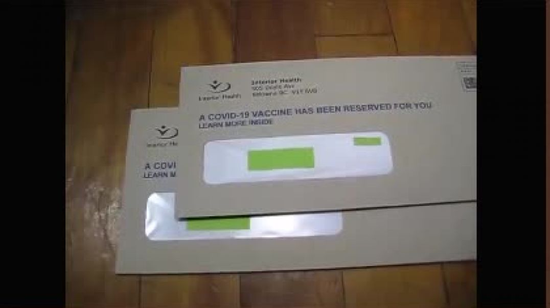British Columbia Sending Letters Pushing Jabs to the Unjabbed