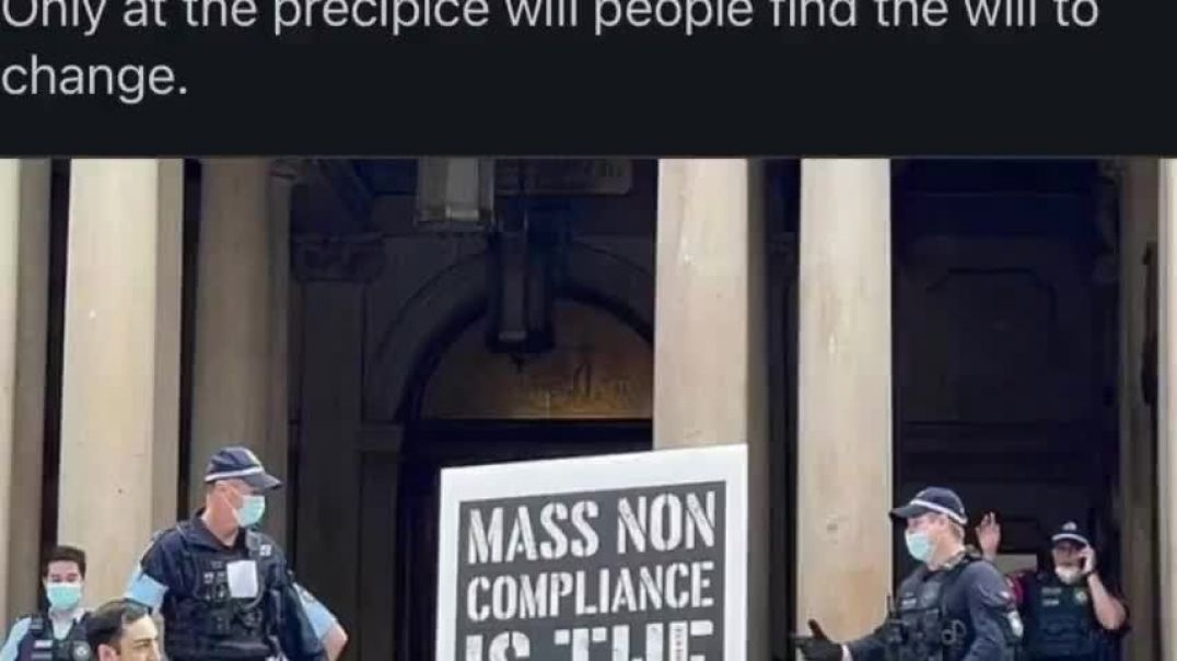 Mass NON COMPLIANCE Is The ONLY WAY