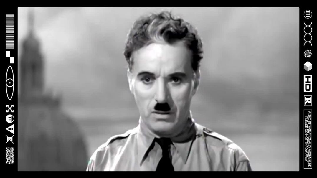 (EMB) FOOD FOR THOUGHT - THE GREAT DICTATOR SPEECH (CHARLIE CHAPLIN)
