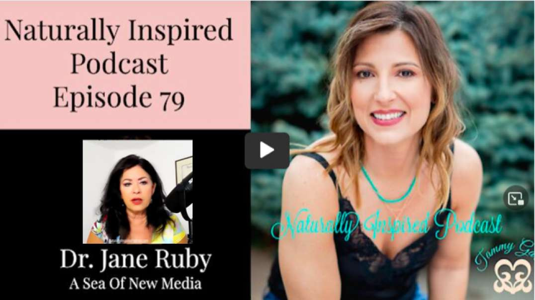 Dr Jane Ruby | A Sea of New Media - July 23, 2021