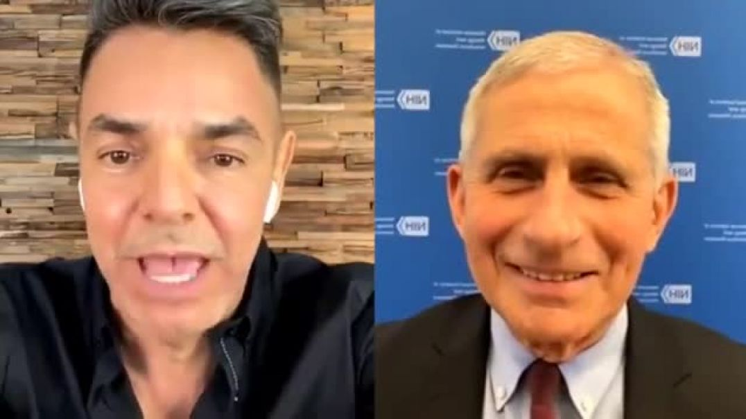 Anthony Fauci gets scientifically grilled by Eugenio Derbez about the Covid-19 vaccines.