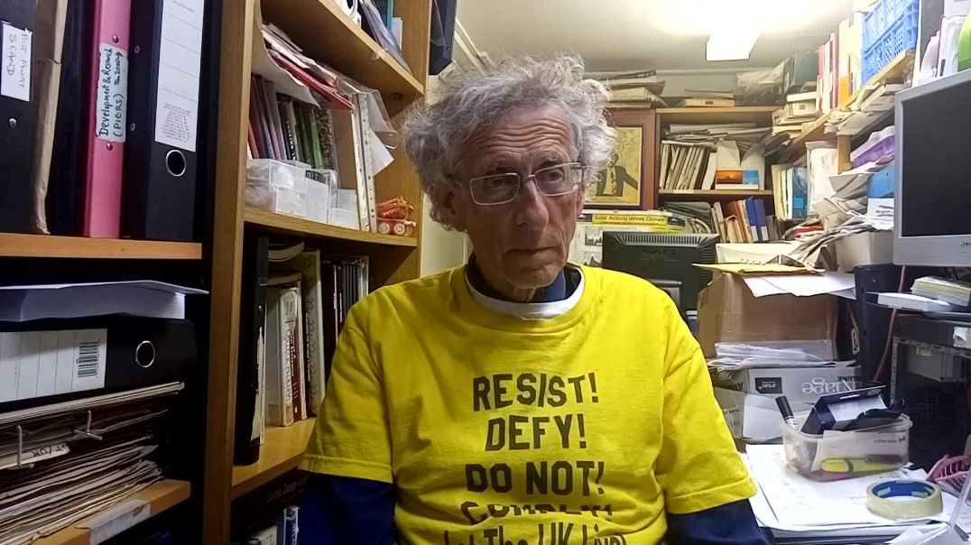 Attempt to frame up Piers Corbyn