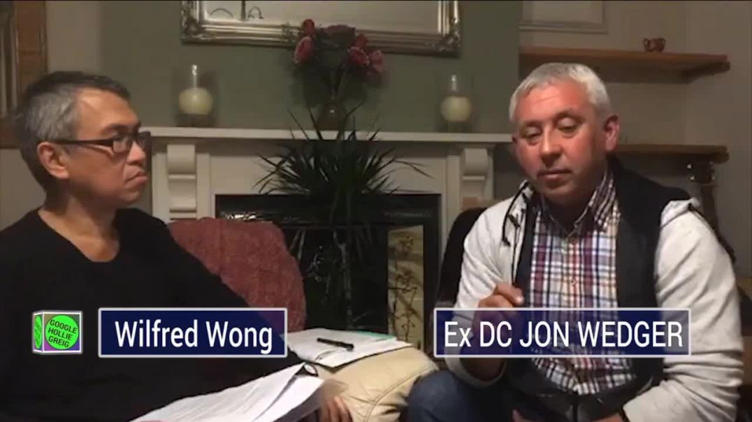 Satanic Ritual Abuse Expert Barrister Wilfred Wong with Ex DC Jon Wedger
