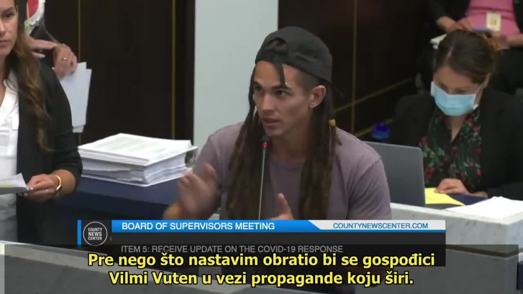 """7-13-2021 County of San Diego Board of Supervisors Meeting - """"... You're lying ..."""" ("""