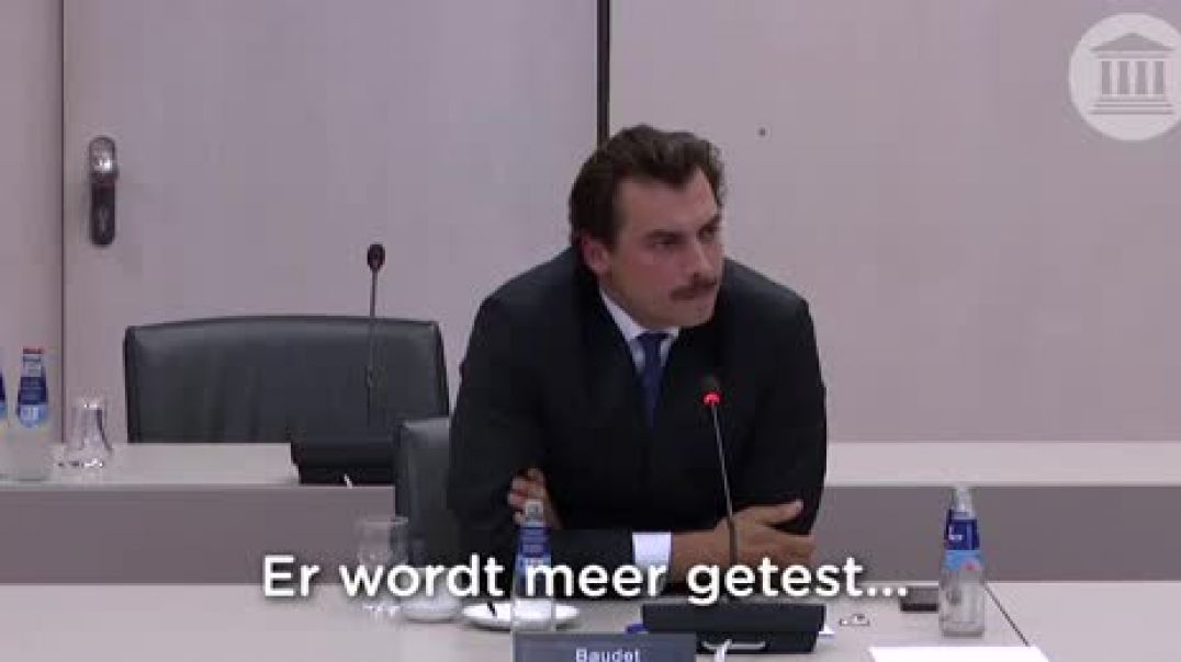 Dutch politician destoys the pcr test and unmaskes the globalists