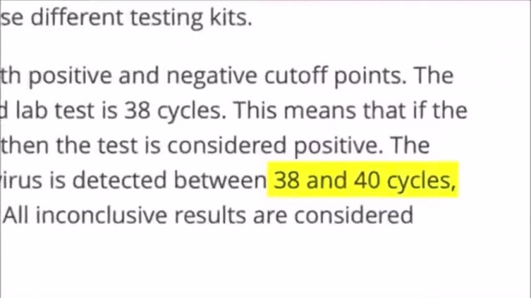 Easy to Understand Info on the PCR test to Wake Up Family & Friends.