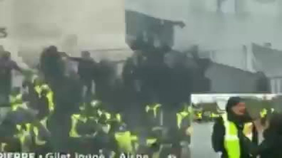 This is FRANCE The People Unite They Wont Be Bullied!