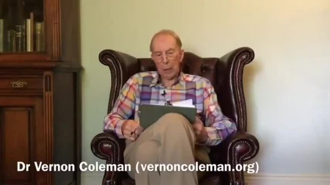 DR. VERNON COLEMAN - THE LOCKDOWNS, THE MASKS, THE RULES ARE COMING BACK