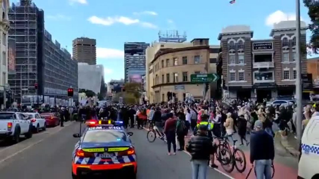 Sydney Is Marching - 27.07.2021