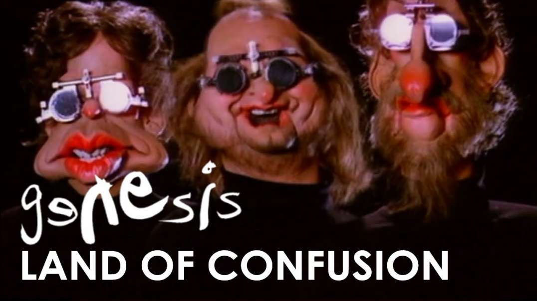 GENESIS Land Of Confusion - (A Classic Music Video - 1986)