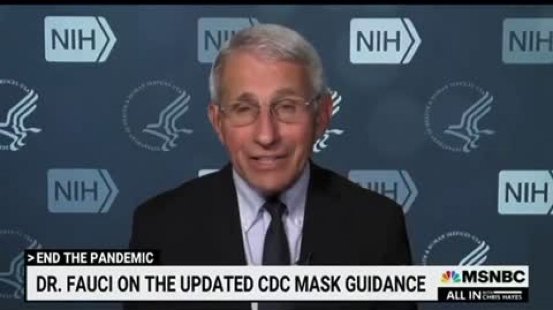 Fauci claiming the vaccines are useless against Delta!