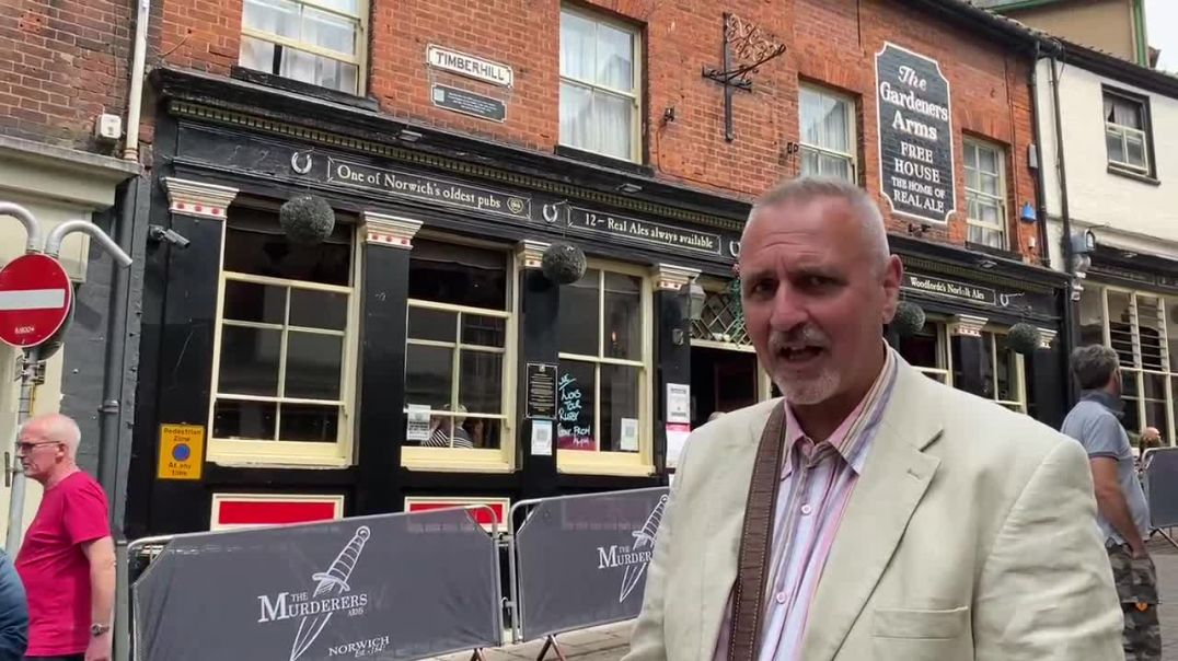 THE MURDERERS ~ NORWICH ~ NO VAXX NO PINT!!!  (PLEASE SHARE!!)