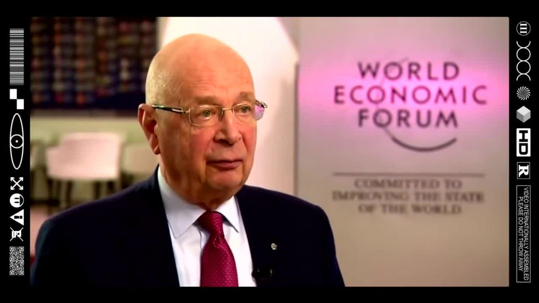 (EMB) FOOD FOR THOUGHT - KLAUS ANAL SCHWAB TALKS OF GRAND PLANS FOR POPULATION (4TH INDUSTRIAL REV)