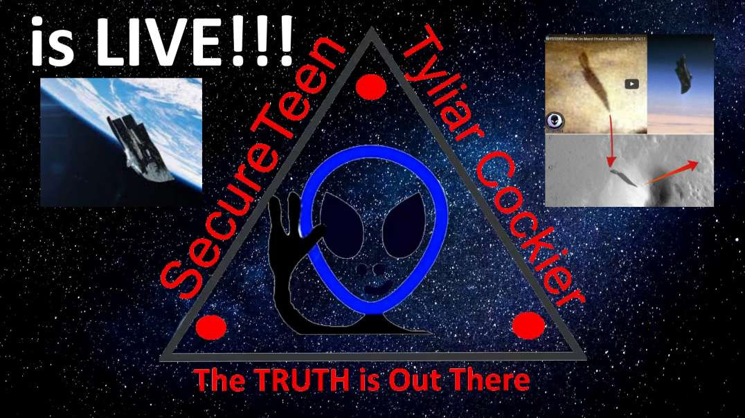 Come and Talk to UFO Hunter Tyliar Cockier about UFOs - Live 3 -ST10 ship shadow and BlackKnight