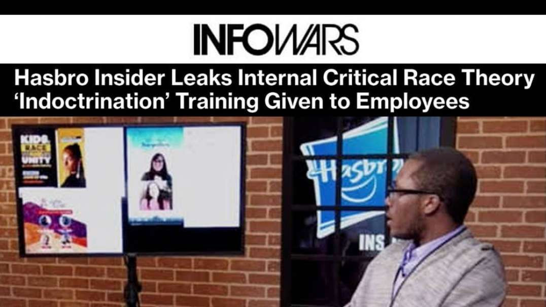 Hasbro Whistleblower Joins Infowars to Fight CRT Mind Control