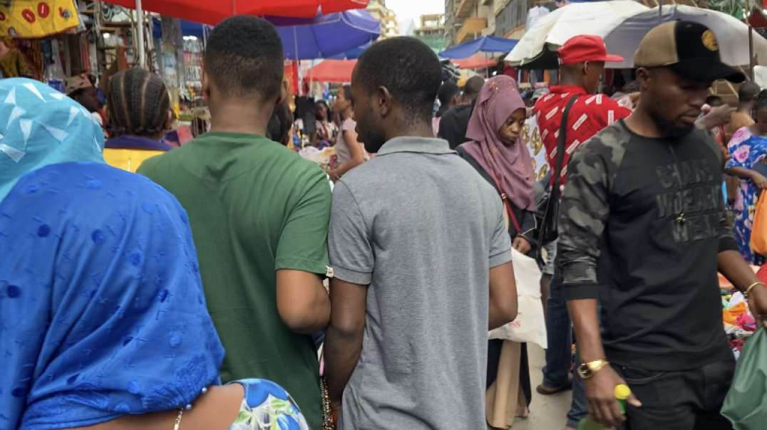 No Masks or Social Distancing in Tanzania! Market Full of People...
