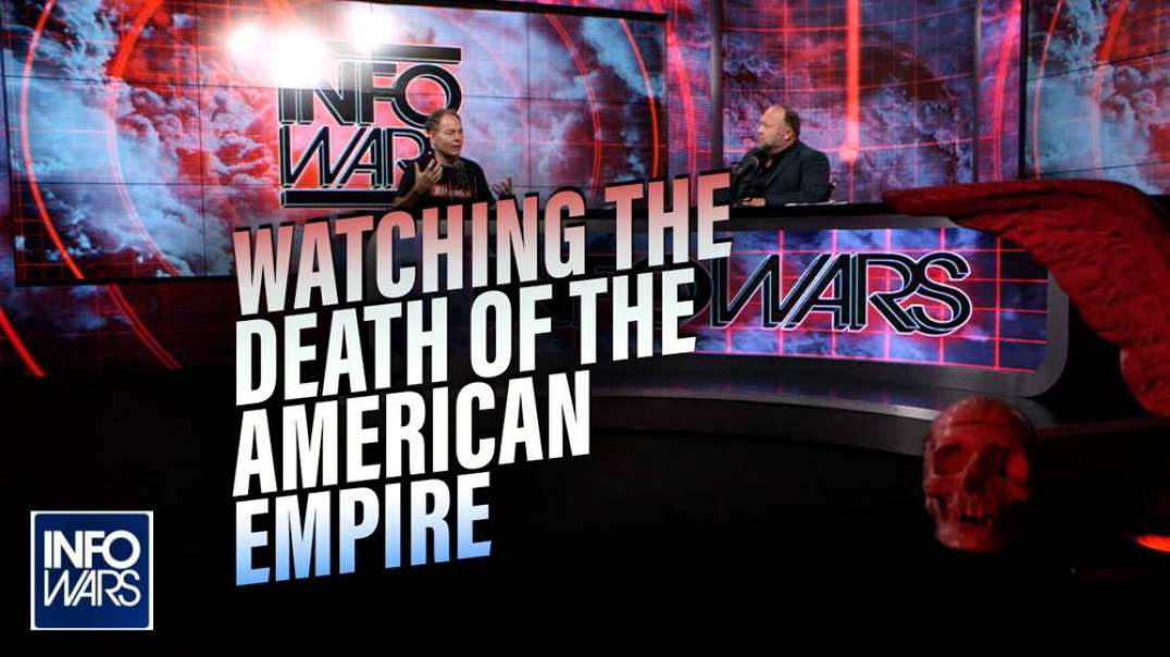 Max Keiser: We are Watching the Death of the American Empire