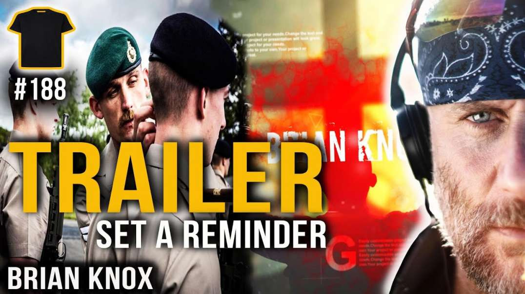 From The Royal Marines To A Satanic Coven | TRAILER | Brian Knox | Bought The T-Shirt Podcast