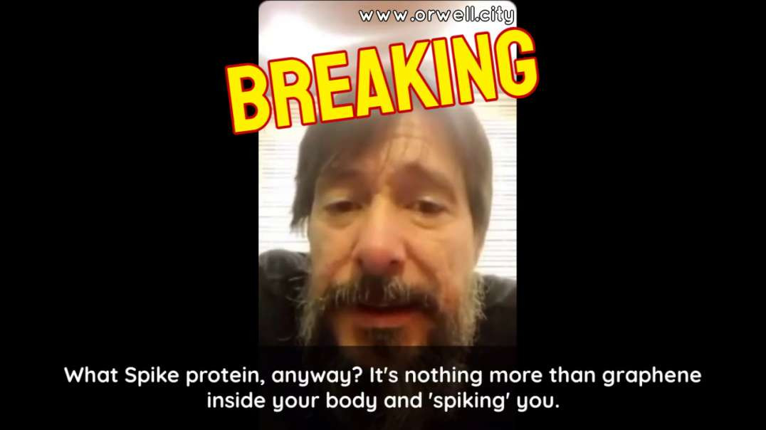GENETICIST AND RESEARCHER DR. LUIS MARCELO MARTÍNEZ: 'THE SPIKE PROTEIN IS NOTHING MORE THAN GR