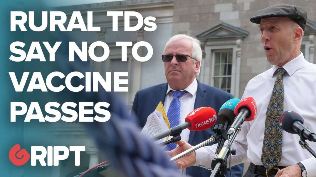 """""""STAND UP FOR THE MINORITY"""": Rural Independent TDs slam vaccine passports"""