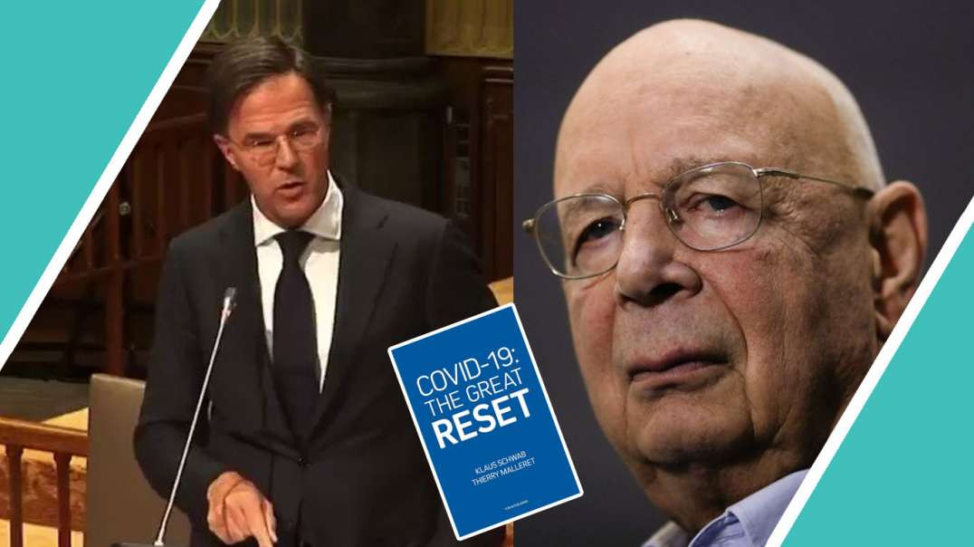 WATCH DUTCH PM Caught Out On Klaus Schwab and Great Reset / Hugo Talks #lockdown