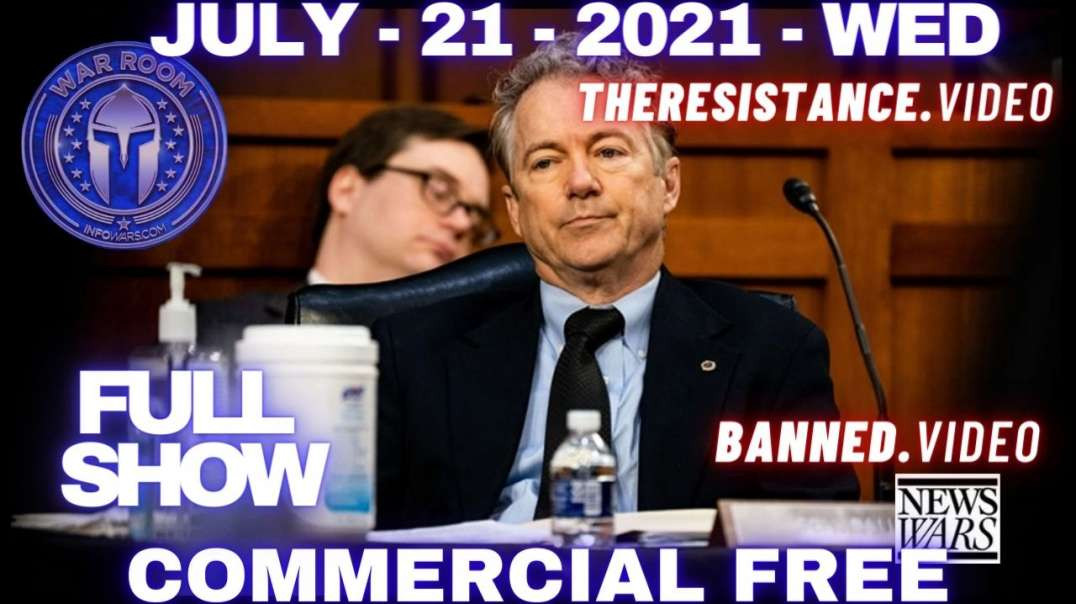 Rand Paul To Request Criminal Investigation Into Fauci & Gain-Of-Function Research