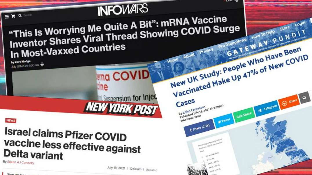 Top Scientists Say Covid 19 Spike Caused By Vaccine