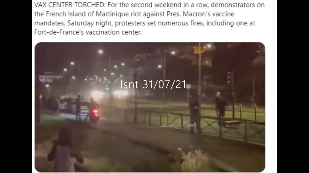 Vaxx Centre Touched In France The Resistance Is Building Against The NWO