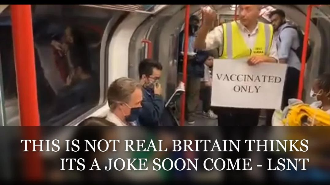 Vaccinated Only Britain Thinks It A Joke Its Happening Elsewhere - SEE NOTES