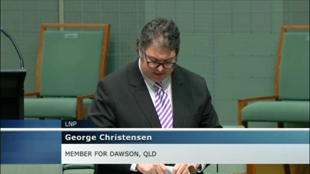 George Christensen in the House of Representatives10 Aug 2021
