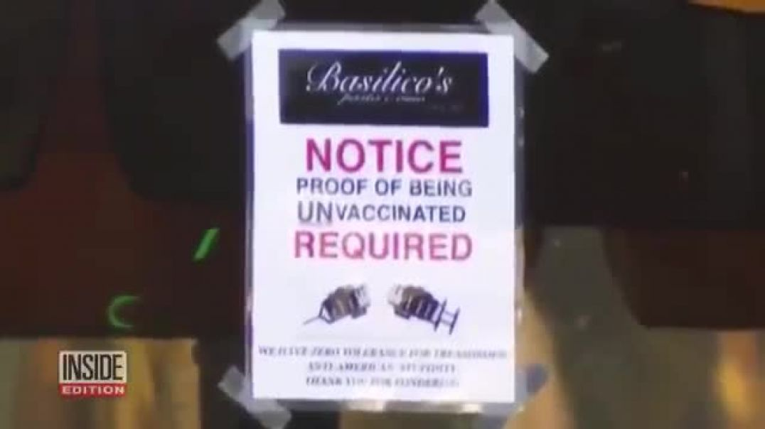 Restaurant owner bans vaccinated people from his restaurant