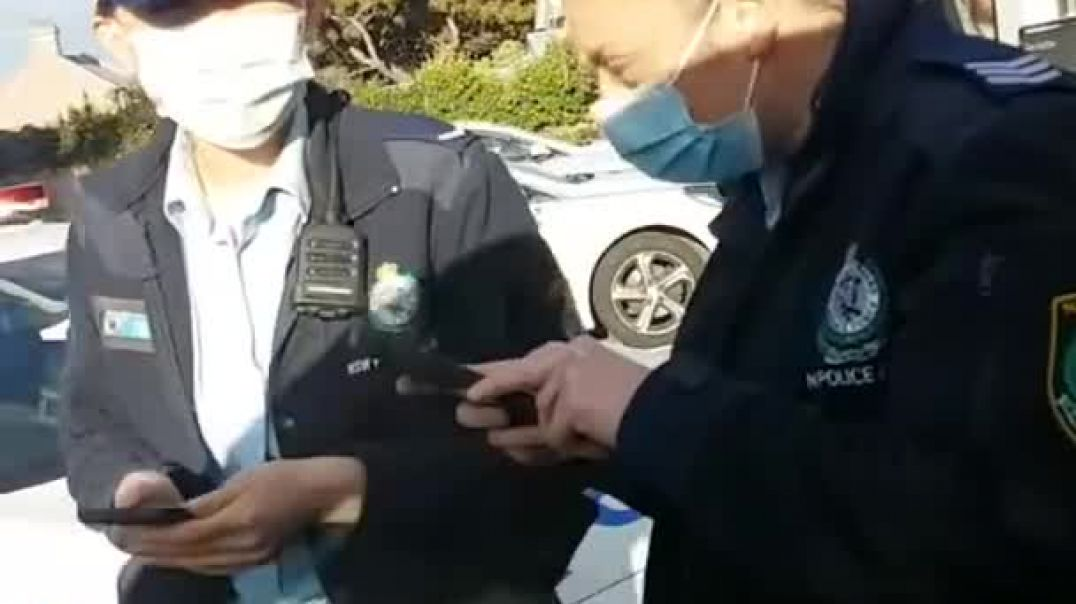 NSW Police intimidate and threaten a Construction worker