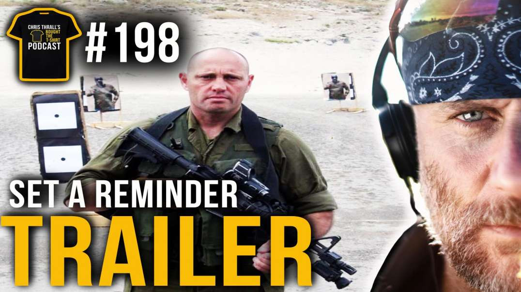 TRAILER | Israeli Special Forces Commander | Dr Itay Gil | Chris Thrall's Bought The T-Shirt Po