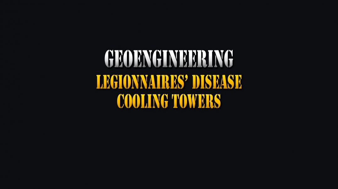 Legionnaires Disease and Cooling Towers (WSAC) weather modification