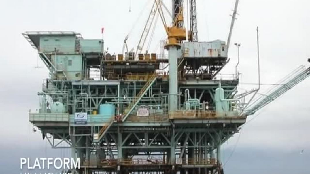 EARTH curvature experiment using oil platforms - JUST WATCH THIS (in silent awe)