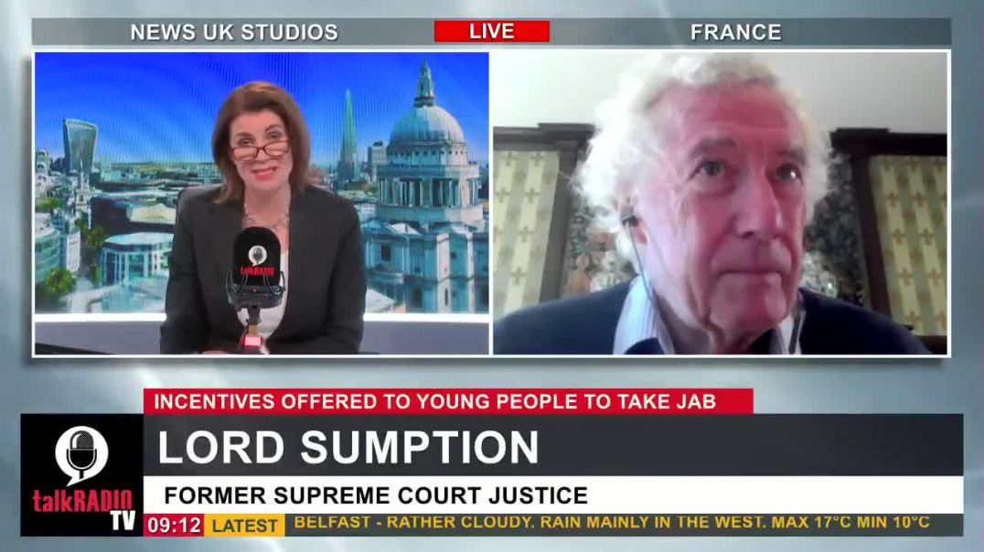 """Lord Sumption: """"There's absolutely no justification for the measures that are threatened."""