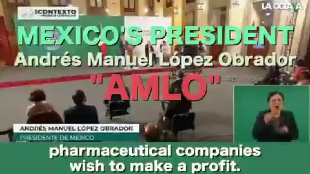 Mexico knows something.... Mexico's president wont live long ..