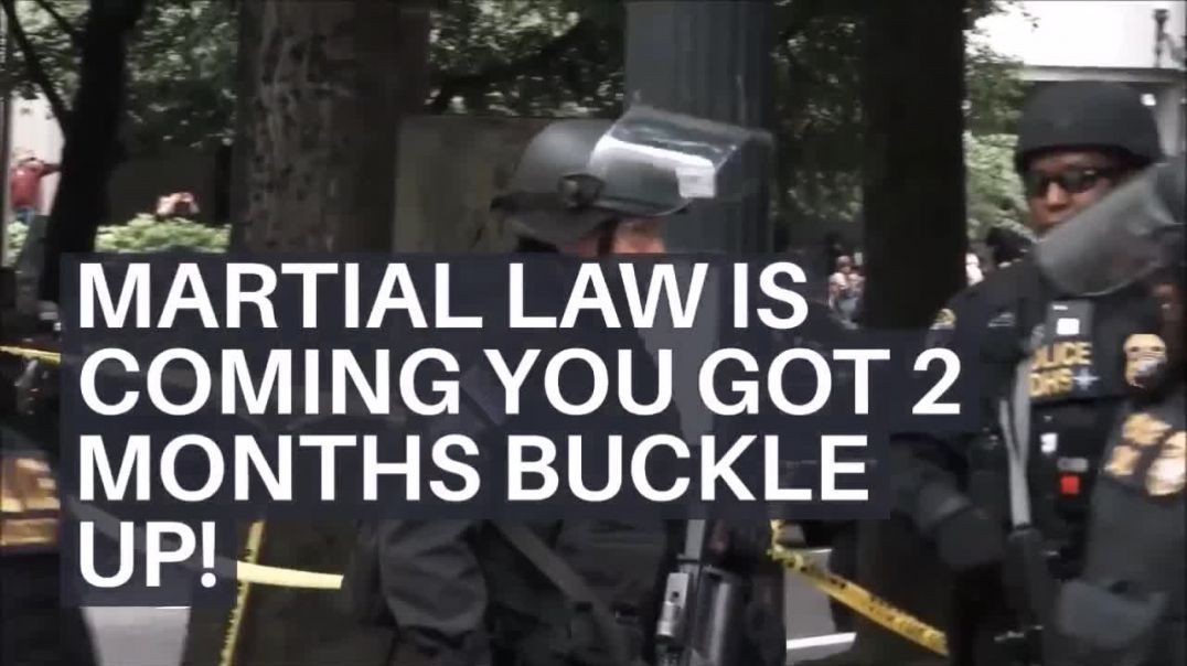 Warning went out 11/08/20 WARNING NZ - In 8 days it will be a year and now NZ IS UNDER MARTIAL LAW.