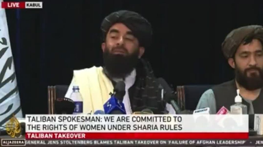 TALIBAN- AMERICA HAS LOST THE ABILITY TO SPEAK ASK FACEBOOK