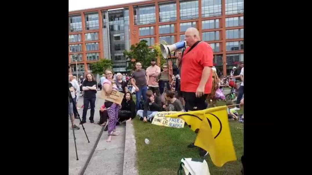Manchester Anti Government Lockdowns - Vaccines Protest,  24.7.21
