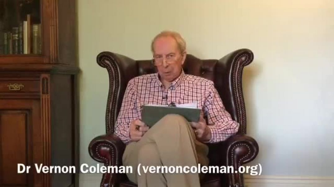 Dr Vernon Coleman - The Evil Behind The Covid Hoax