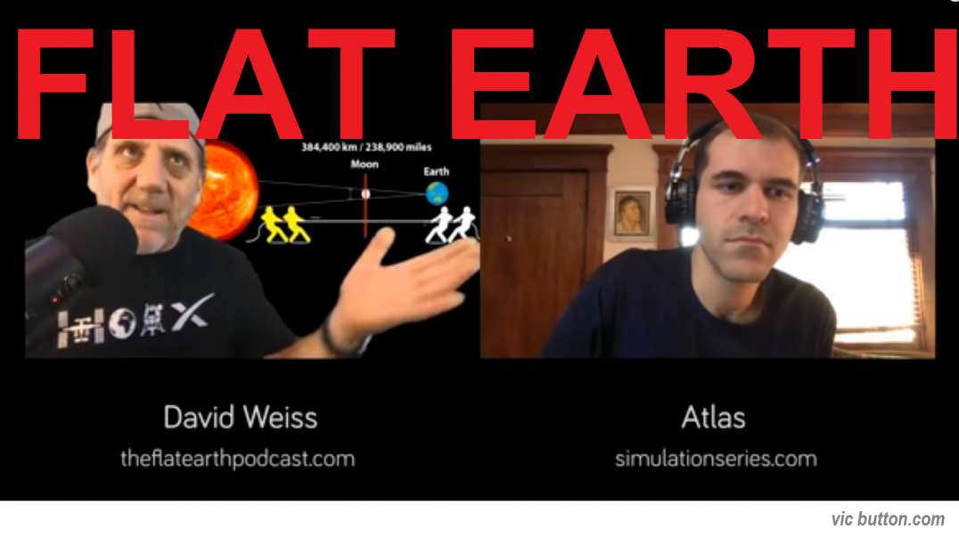 """FLAT EARTH ~ David Weiss ~ """"While the world falls apart, most people haven't a clue"""""""