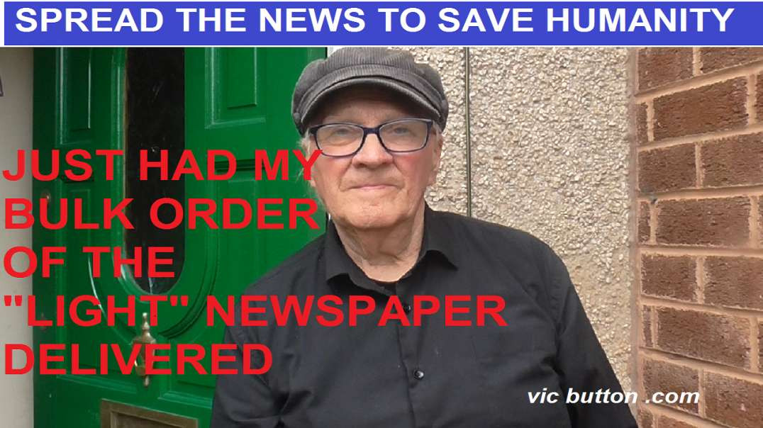 """BULK ORDER OF """"THE LIGHT"""" NEWSPAPER- LATEST- ISSUE 12 DELIVERED AND UNPACKED"""
