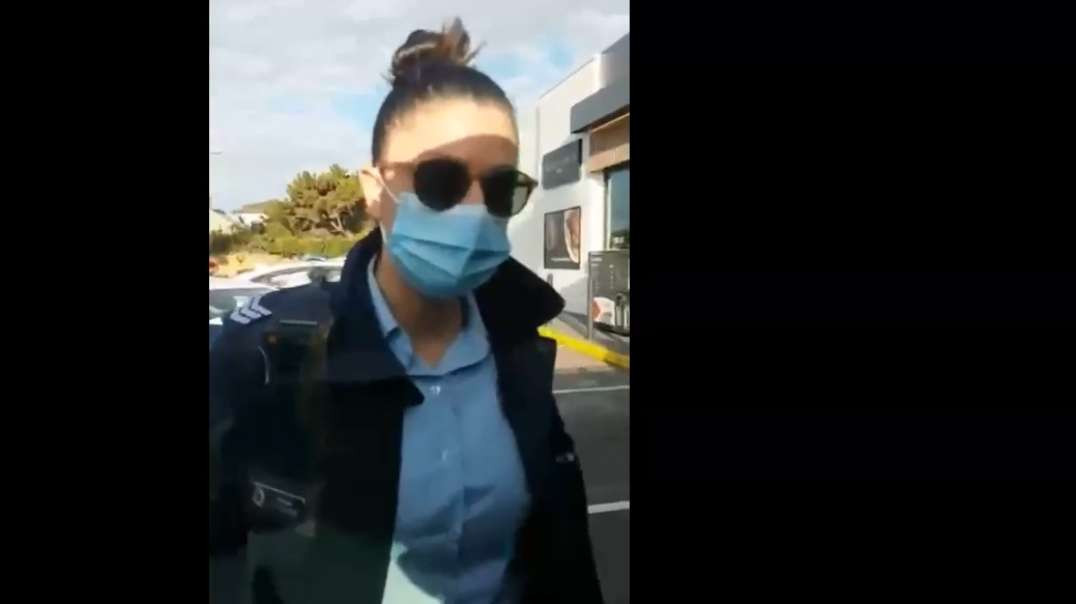 Australia NSW Gestapo Covid Police Gets Called Out, Intimidation Tactics Backfire Lockdowns
