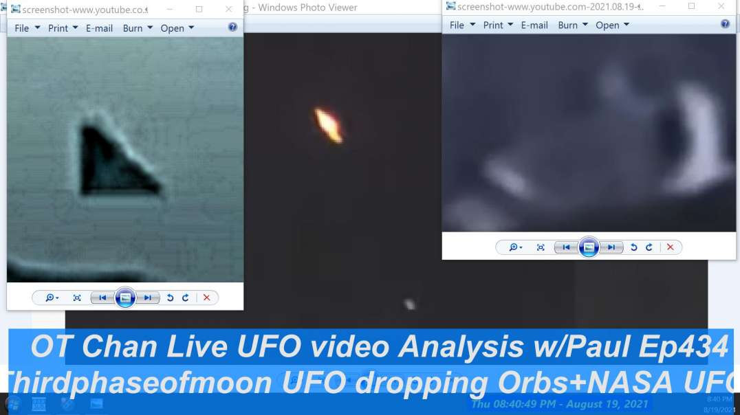 UFOs dropping Orbs analysis - UFO and Space Topics - OT Chan Live-434~ - 1920x1080 4971K