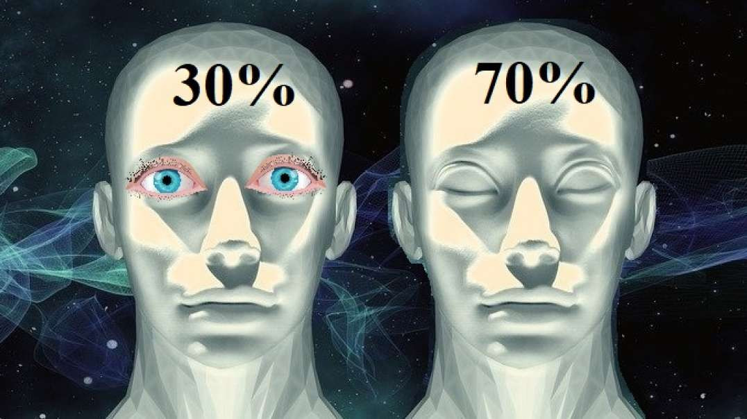 What is the ratio between the conscious and subconscious mind? (Language of the Gods)