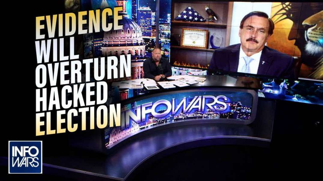 EXCLUSIVE: Mike Lindell Release New Information He Says will Overturn 2020 Election