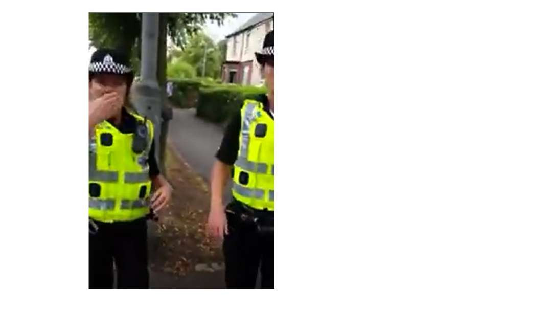 PIGS in the UK harassing instead of solving real crime