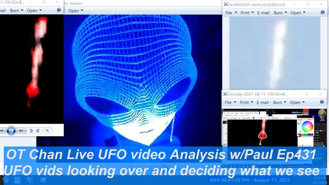 Lets Sit back and Chill while looking at UFO videos together - OT Chan Live-431~ - 1920x1080 4686K